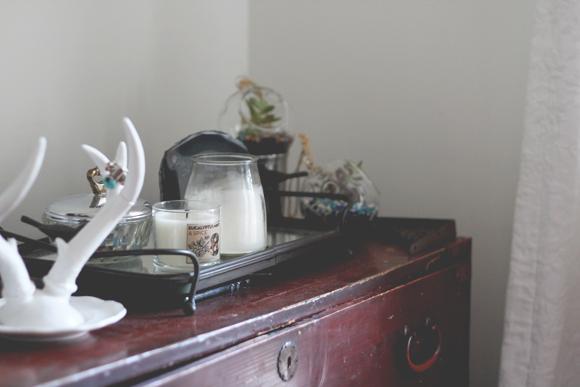 Antique-dresser-top