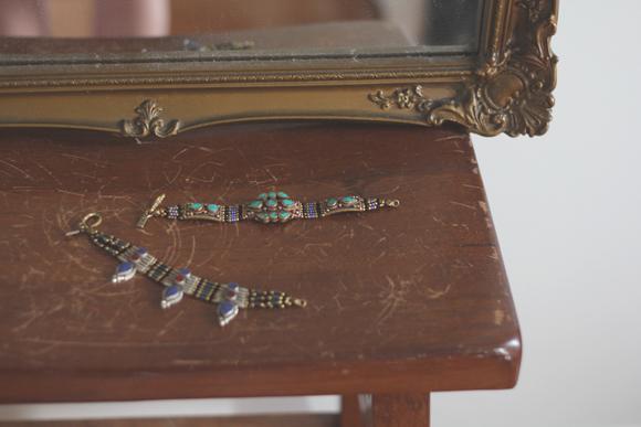 Bracelets-on-wood